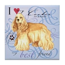 Cocker Spaniel Tile Coaster