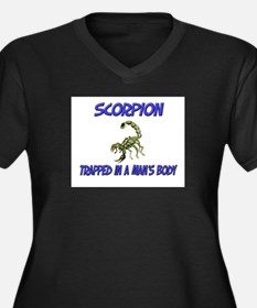 Scorpion Trapped In A Man's Body Women's Plus Size