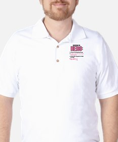 Definition Of Hero 2 Pink (Wife) Golf Shirt