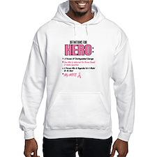 Definition Of Hero 2 Pink (Wife) Hoodie