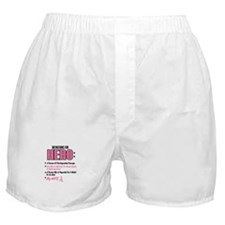 Definition Of Hero 2 Pink (Wife) Boxer Shorts