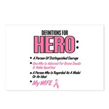 Definition Of Hero 2 Pink (Wife) Postcards (Packag