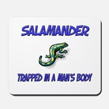 Salamander Trapped In A Man's Body Mousepad