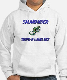 Salamander Trapped In A Man's Body Hoodie