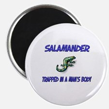Salamander Trapped In A Man's Body Magnet