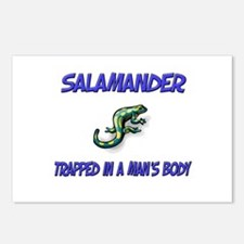 Salamander Trapped In A Man's Body Postcards (Pack