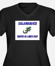 Salamander Trapped In A Man's Body Women's Plus Si