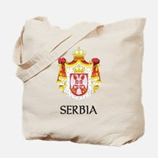 Serbia Coat of Arms Tote Bag
