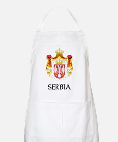Serbia Coat of Arms BBQ Apron