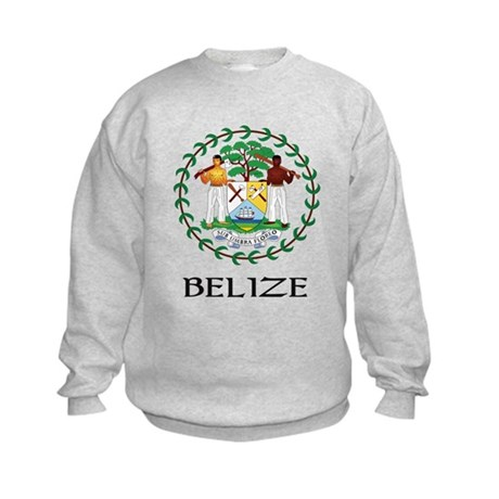 Belize Coat of Arms Kids Sweatshirt