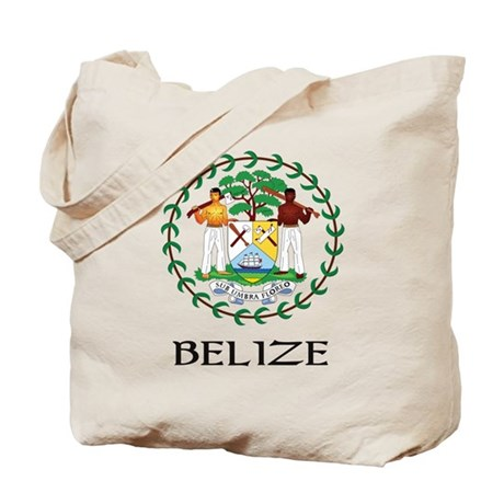 Belize Coat of Arms Tote Bag
