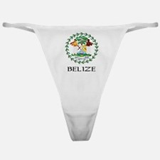 Belize Coat of Arms Classic Thong