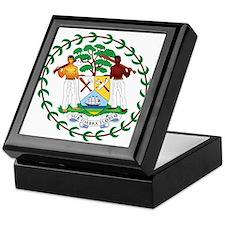 Belize Coat of Arms Keepsake Box