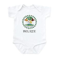 Belize Coat of Arms Infant Bodysuit