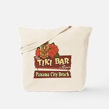 Panama City Beach Tiki Bar - Tote or Beach Bag