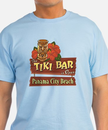 Panama City Beach Tiki Bar - T-Shirt