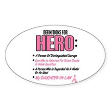 Definition Of Hero 2 Pink (Daughter-In-Law) Sticke