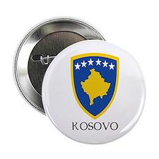 "Kosovo Coat of Arms 2.25"" Button"
