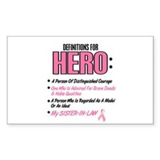 Definition Of Hero 2 Pink (Sister-In-Law) Decal