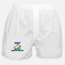 Rabbit Trapped In A Man's Body Boxer Shorts