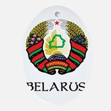Belarus Coat of Arms Oval Ornament