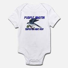 Purple Martin Trapped In A Man's Body Infant Bodys