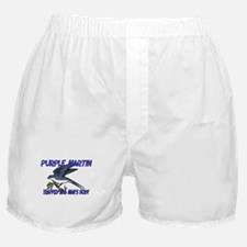 Purple Martin Trapped In A Man's Body Boxer Shorts