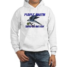 Purple Martin Trapped In A Man's Body Hoodie