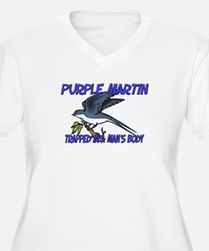 Purple Martin Trapped In A Man's Body T-Shirt