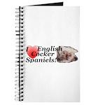 Harry English Cocker Spaniel Journal