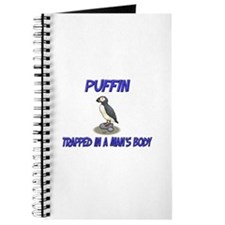Puffin Trapped In A Man's Body Journal
