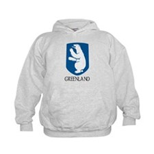 Greenland Coat of Arms Hoodie