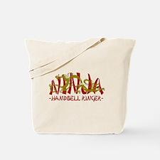 Dragon Ninja Handbell Ringer Tote Bag