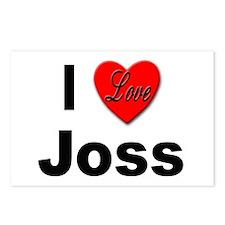 I Love Joss for Joss Lovers Postcards (Package of