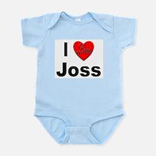 I Love Joss for Joss Lovers Infant Creeper