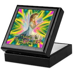 Magic Fairy Girl Keepsake Box