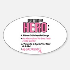 Definition Of Hero 2 Pink (Girlfriend) Decal
