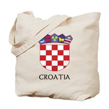 Croatia Coat of Arms Tote Bag