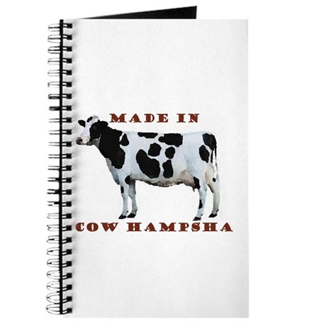 Made In Cow Hampsha Journal