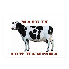 Made In Cow Hampsha Postcards (Package of 8)