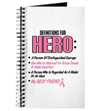 Definition Of Hero 2 Pink (Best Friend) Journal