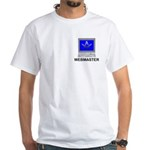 Masonic Webmaster White T-Shirt