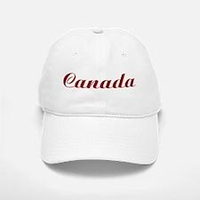 Classic Canada (Red) Baseball Baseball Cap