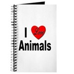 I Love Animals for Animal Lovers Journal