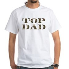 Camo Camouflage Top Dad Shirt