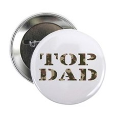 """Camo Camouflage Top Dad 2.25"""" Button (100 pack)"""