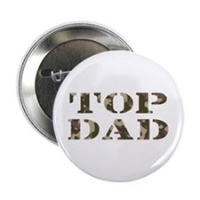 """Camo Camouflage Top Dad 2.25"""" Button"""