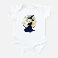 Witch, Cat & Moon Infant Bodysuit