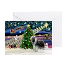 Xmas Magic & Beardie Greeting Cards (Pk of 10)