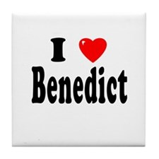 BENEDICT Tile Coaster